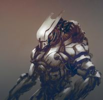 Alien Android by ortizfreelance