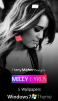 Miley Cyrus - Windows 7 Theme by Domino333