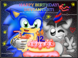 Happy Birthday, Deviantart!!! by Amel-Genius17