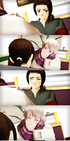 _MMD_ Awkward first date by xXHIMRXx