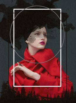 the red queen in the black forest by BauCreeep