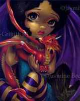 Darling Dragonling I by jasminetoad