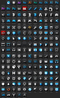 Slate Apps Icons by Pulsar83