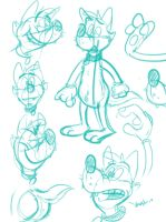 Silly doodles 12 by valdo-wolf