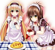 [TOLOVE] Maid internship~ by xyomouse