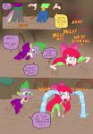 Apple Bloom and Spike, Fun in the Mud pg. 4 by edCOM02