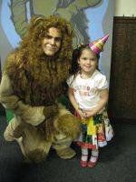 Cowardly Lion and Friend by ZacharyRyanCostumes