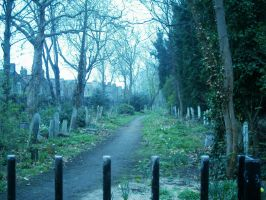 Places:Graveyards II by p-p-stock