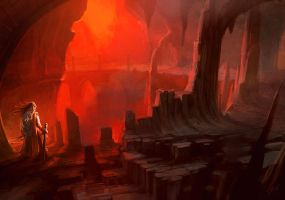 Fire Caves II - concept by ANTIFAN-REAL