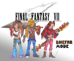 FinalFantasyVII - Binefar Mode by 2PlayerWins