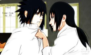 JIJ! - pg. 83 Sasuke and Itachi frame by Lesya7