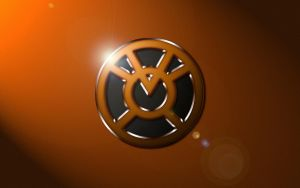 Agent Orange Logo Wallapaper by SUPERMAN3D