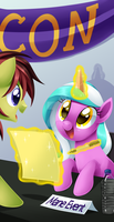 BronyCon 2014 - Autographs by Centchi