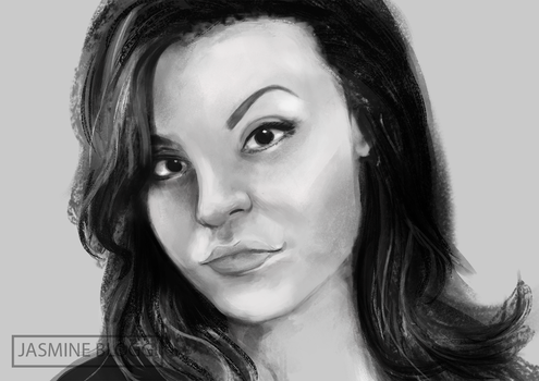 Female Portrait study 1 by pyradragoness