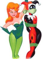 Harley and Ivy otn vines by ticklemecastro