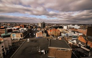 Leicester city Centre by daliscar