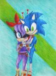 Perci and Sonic~Sonerci by Mystic-Shadows