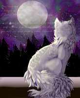 Speedpaint: you are the moon by kleslie