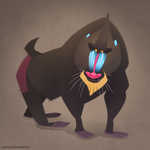 Mandrill by iktis