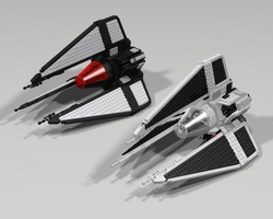 First Order and Imperial Tie Phantom by Jesse220