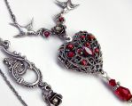 Red Heart Locket 1 by Aranwen