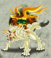 .:OKAMI:. by chickenMASK