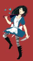 Alice Madness Returns by hatthecat123