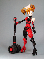 Lego: Harley Quinn by retinence