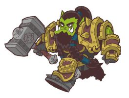 Thrall by JoelRCarroll