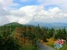 Mountain Scene Anaglyph 2 by redtailhawker