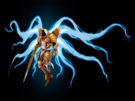 Tyrael by Denewer