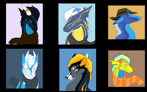 Dragon Icons by Bluehasia