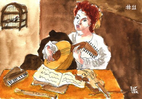 The Lute Player by ErikReis