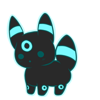 Umbreon Chu by Chibi0Wolfie