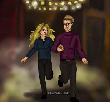 Bobbi and Clint by quirkypaynesgrey
