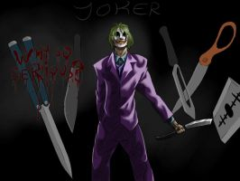 The Joker by thepasswordis-123456