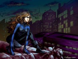 Femme Nightwing -commission- by Chama