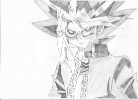 Yami Yugi Drawing by SmashBros2008