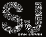San Japan MishMosh Lettering by labrattish