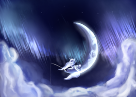 Dreamy Luna by Vertiliago
