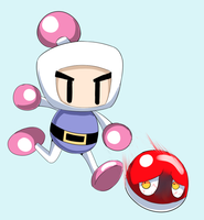 Bomberman Crossover by Joltik92