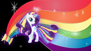 Rarity-rainbow-power Wallpaper by rainbownspeedash