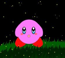 Kirby Fireflies by Animerocksthebest