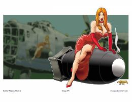 Nose Art Series 1: Smokin' by WBreaux
