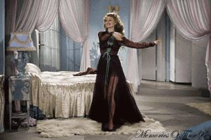 Rita Hayworth - Colorized GIF by MemoriesOfTime97