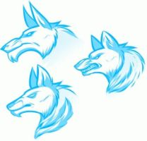 FREE Werewolf Heads Lineart by Free-Line-Arts