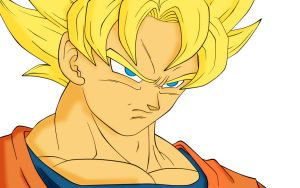 Goku-coloring-pages-2ju2 by ymdsr