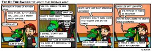 It Ain't the Trojan Man by tipofthesword