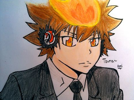 Tsuna by 96lightDN