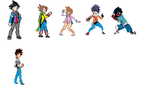 DA Pokemon Sprites by Bronyisakyle